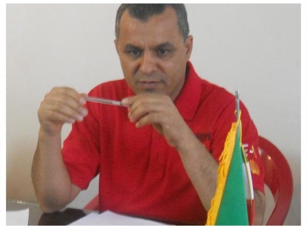 فرخ محمدی در هیئت فوتبال بستک ماندنی شد+ تصاویر