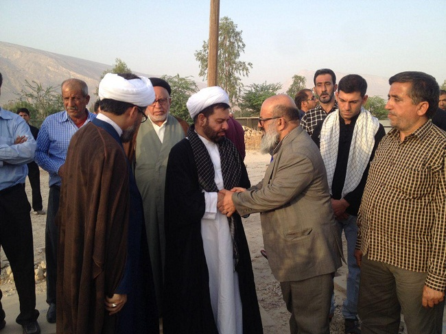 مراسم ختم شیخ محسن ربانی در کال برگزار شد + تصاویر