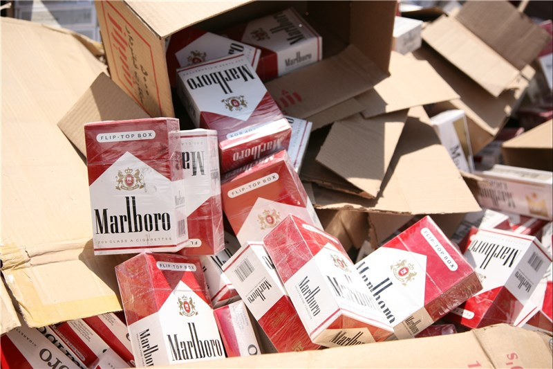 کشف سیگار قاچاق در بستک