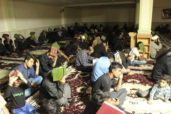 مراسم احیاء شب ۲۱ رمضان در بستک + تصاویر