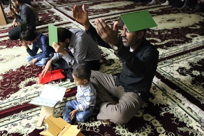 مراسم پر فیض احیاء شب قدر در بستک برگزار شد + گزارش تصویری