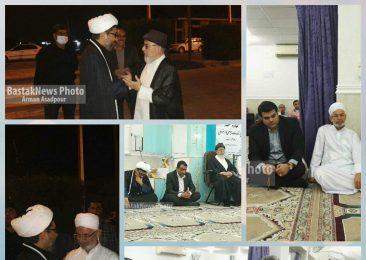 مراسم استقبال از زائرین کربلا در مسجد امام علی (ع) برگزار شد+گزارش تصویری