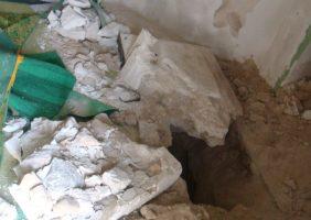 حفاری های غیرمجاز در پیشانی فرهنگی هرمزگان به قصد تاراج میراث گذشتگان + تصاویر