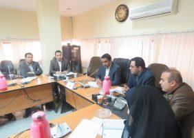 جلسه شورای حفاظت از منابع آب شهرستان بستک برگزار شد