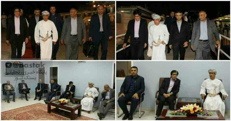 دومین نمایشگاه توانمندیهای استان هرمزگان و شهرستان بستک در شهر خصب عمان افتتاح شد