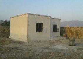 تکمیل پروژه مسکن مددجویان روستائی شهرستان بستک