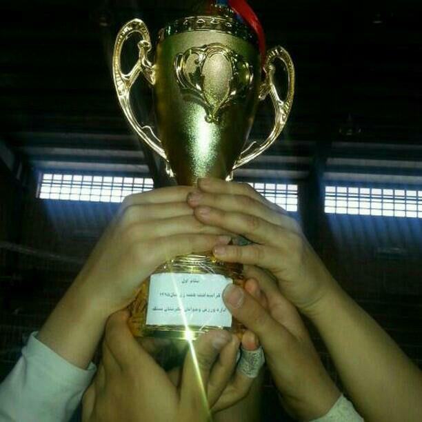 قهرمانی تیم والیبال انجمن احسان کوهیج در مسابقات چهارجانبه والیبال زنان
