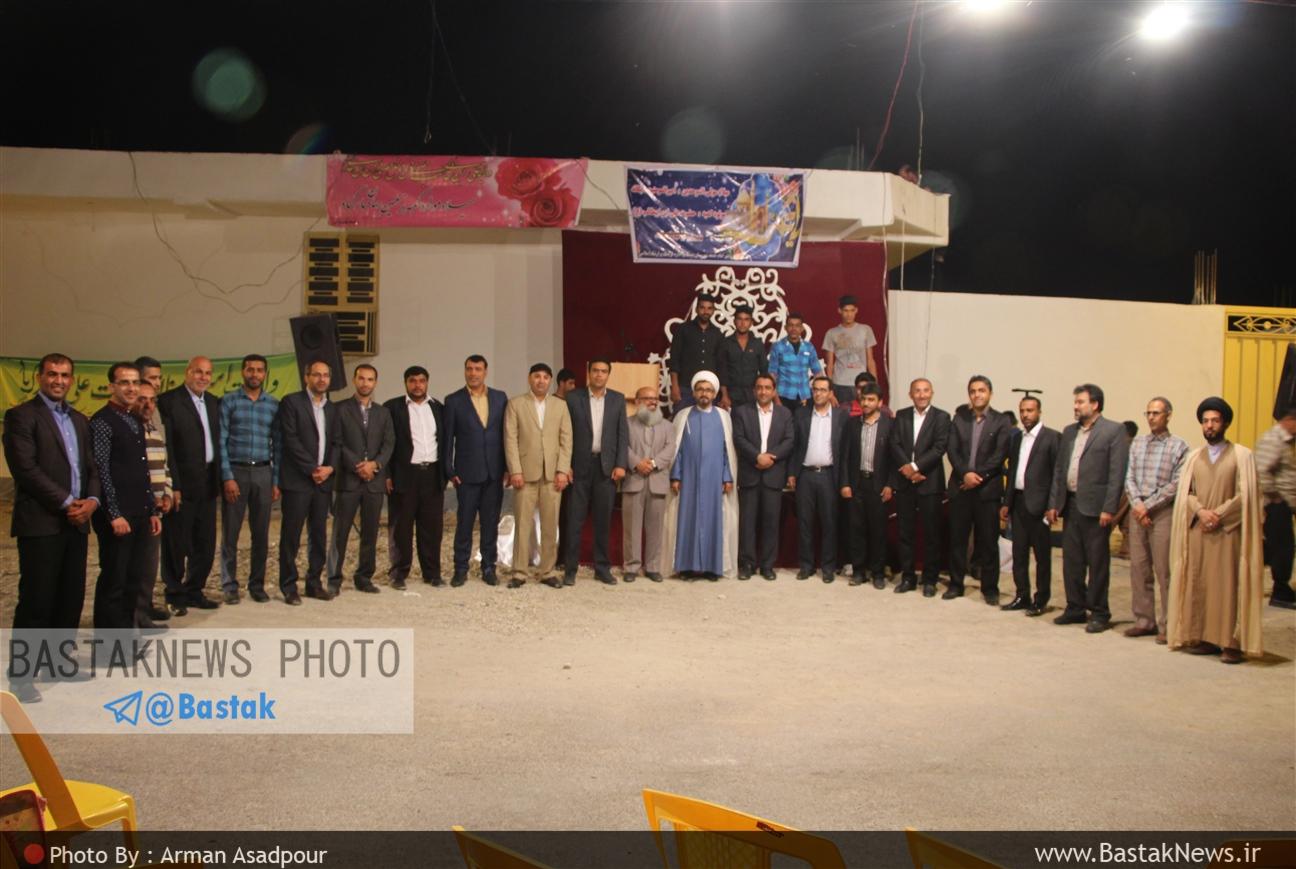 جشن میلاد حضرت علی(ع) در بستک برگزار شد + گزارش تصویری