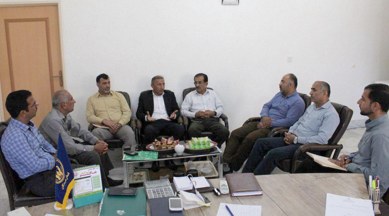 برگزاری جلسه مشترک بین کمیته امداد امام خمینی (ره) و اتاق اصناف شهرستان بستک