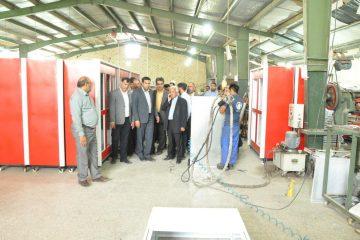 بازدید هیئت تجار استانی از واحدهای تولیدی شهرستان بستک