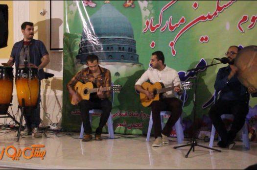 کلیپ اجرای احمد رحیم در شب شعر مبعث