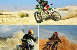اعزام موتور سواران جناحی به مسابقات قهرمانی کشور در تهران