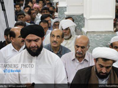 گزارش تصویری از مراسم ختم مرحومه عزیزه توانا با حضور چهره های شاخص سیاسی مذهبی بستک