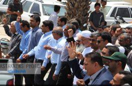 حضور مردم شهرستان بستک در راهپیمایی روز جهانی قدس
