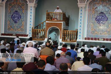 گزارش تصویری اقامه نماز عید سعید فطر در مسجد جامع شهربستک