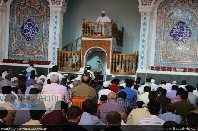 گزارش تصویری از اقامه نماز عید فطر در مسجد جامع شهربستک