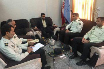 دیدار مسئولان دادگستری شهرستان بستک با نیروی انتظامی و شوراهای حل اختلاف+تصاویر