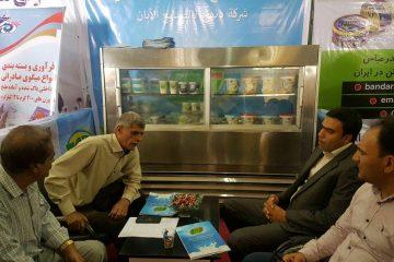 حضور موفق صنایع شیر دهنگ در نمایشگاه جاسک با حضور هیات تجاری کشور عمان