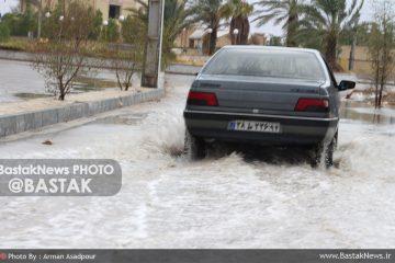 بستک با ۴۰۸ میلیمتر بارش در صدر بارش های استان در سال زراعی جاری