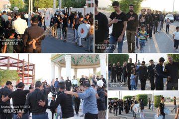 گزارش تصویری مراسم تاسوعای حسینی در بستک