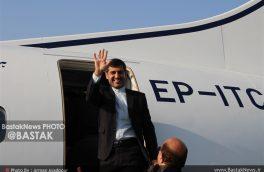 لحظه ورود و استقبال از هواپیمای ATR بندرلنگه