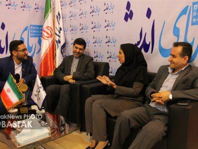 گزارش تصویری بازدید ناصر شریفی از رسانه های استان هرمزگان حاضر در نمایشگاه مطبوعات