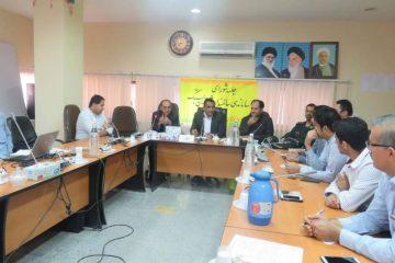 جلسه شورای ساماندهی سالمندی شهرستان بستک برگزار شد