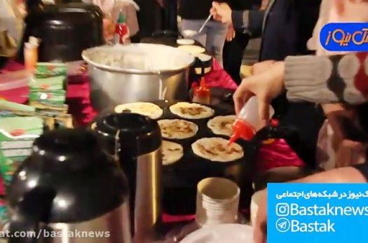 جشنواره مواد غذایی به نفع بیماران نیازمند در بستک