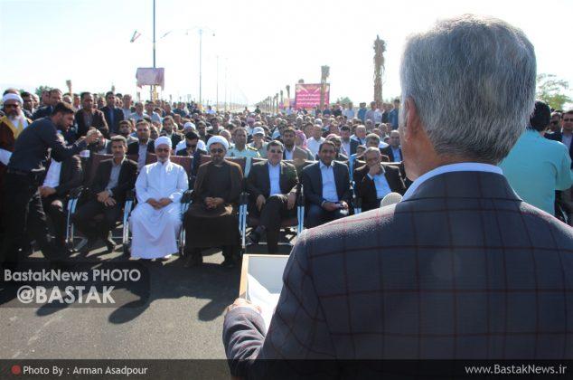 افتتاح بلوار منصور عباسی و کلنگ موزه جناح