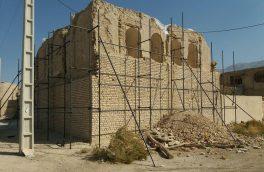 ۳۰۰ میلیون ریال برای نجات بخشی قلعه خان بستک هزینه شد