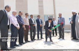 کلنگ طرح توسعه ساختمان بخش داخلی بیمارستان فارابی بستک به زمین زده شد