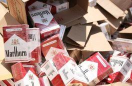 کشف یک میلیون نخ سیگار قاچاق در بستک