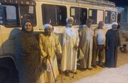 مهرورزی و تکریم سالمندان به مناسبت روز جهانی سالمندان در روستای چاله فرامرزان