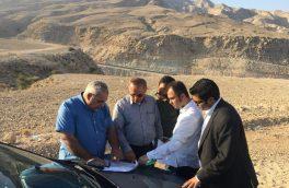 جانمایی دقیق کاربری های پروژه دهکده بوم گردی بام بستک با حضور مهندسین مشاور ارگ بم کرمان