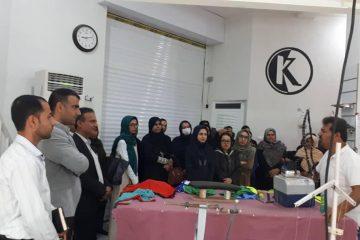 تور ترویجی مددجویان کمیته امداد امام خمینی بستک در روستای کوهیج برگزار شد