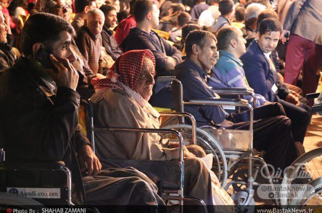 جشنواره نیکوکاری در حمایت از افراد دارای معلولیت در شهرستان بستک