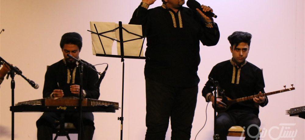 برگزاری کنسرت گروه موسیقی سنتی سرآغاز در جناح