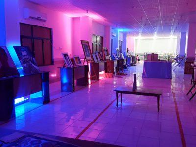 نمایشگاه آثار هنری و صنایع دستی در دانشگاه ازاد جناح برگزار شد