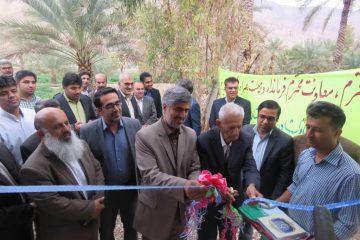 افتتاح پروژه آبیاری تحت فشار روستای کوهیج