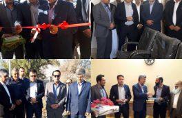 بهره برداری از ۳ پروژه عمرانی و آموزشی در بخش مرکزی شهرستان بستک