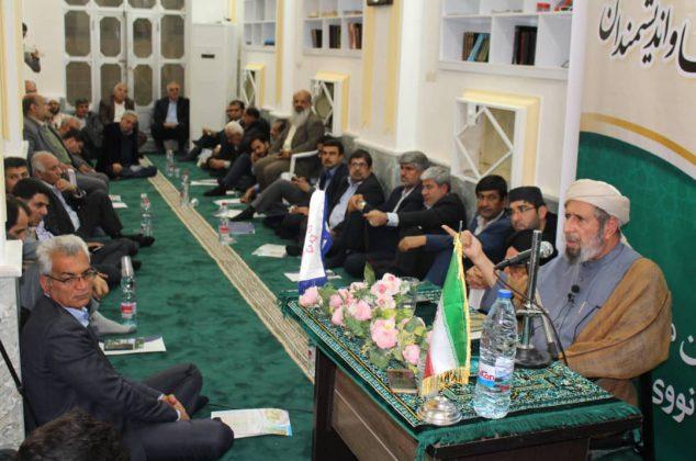 ششمین دیدار دانشجویان و فرهنگیان منطقه گوده با علما و دانشمندان برگزار شد