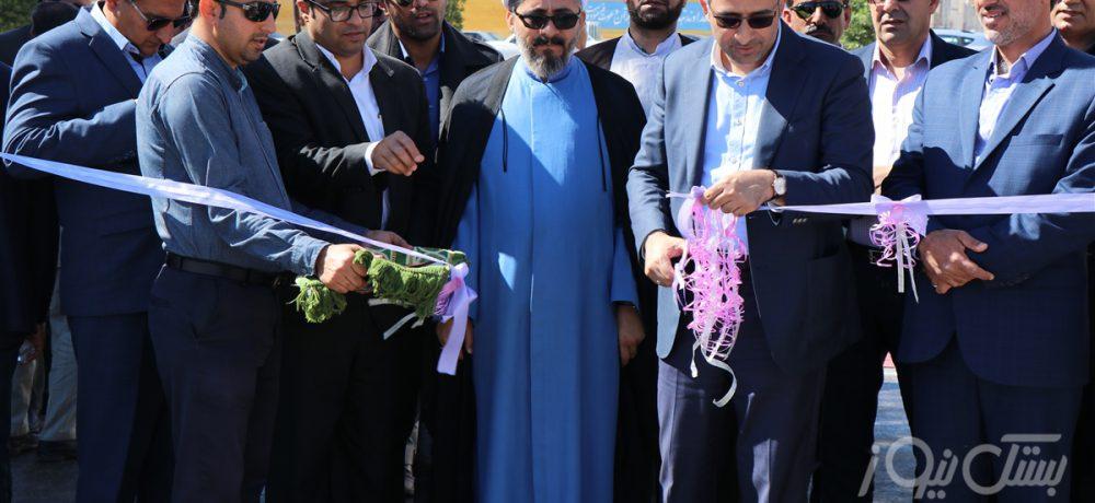 افتتاح ۲۱ پروژه عمرانی در شهرستان بستک با اعتبار ۱۳ میلیارد تومان