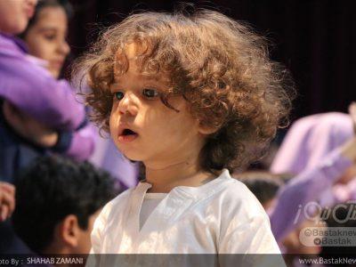 مراسم جشن فارغ التحصیلی مرکز پیش دبستانی نورالهدی بستک