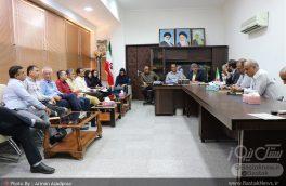 جلسه مدیریت و پیگیری وضیعت آب شرب شهر بستک و خط لاورمیستان برگزار شد + تصاویر