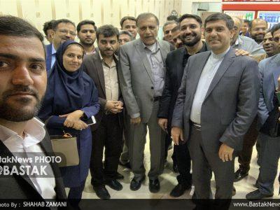 مراسم جشن هفته خبرنگار در بستک