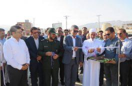 افتتاح ۴ پروژه عمرانی شهرداری بستک به صورت متمرکز به مناسبت هفته دولت