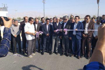 بهره برداری از پروژه های شهرداری جناح درسومین روزهفته دولت