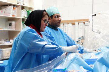 شروع درمان و انجام آنژیوگرافی و آنژیوپلاستی به موقع ،جان  بیماری که دچار ایست قلبی شده بود را نجات داد