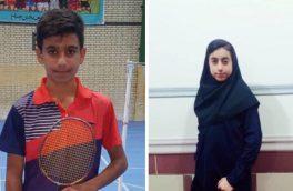 دو بدمینتون باز از شهرستان بستک به اردوی تیم ملی بدمینتون جمهوری اسلامی ایران دعوت شدند