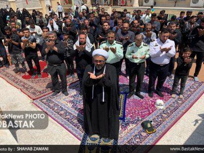 اقامه نماز ظهر عاشورا در بستک
